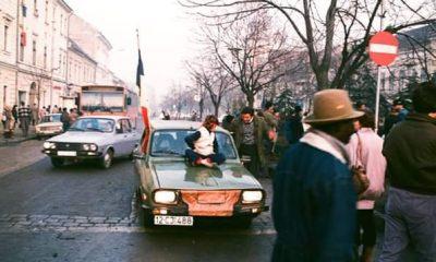 """30 de ani de la Revoluție! Amintiri foto din Cluj: """"Alergam înfrigurat, dar plin de entuziasm să surpind cele mai importante momente"""""""