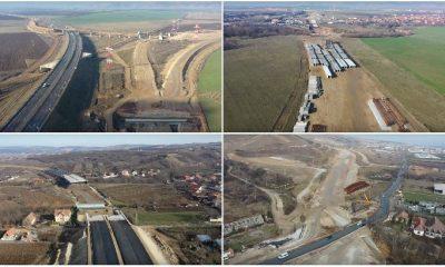 Autostrada Sebeş - Turda se construieşte în ritm de melc