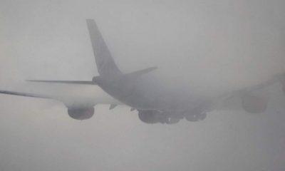 Clujul, din nou sub ceață! Zboruri întârziate la aeroport