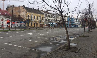 Cum arată străzile Clujului de sărbători
