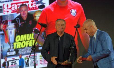 Dan Petrescu, cel mai bun antrenor român al anului la Gala GSP! Omrani, premiat şi el