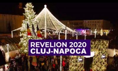 Revelion 2020 în centrul Clujului. Cine urcă pe scena din Piața Unirii