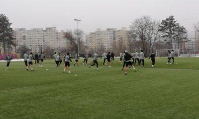 Cinci jucători noi la primul antrenament al Universității Cluj din 2020