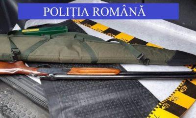 Clujean, depistat cu o armă letală în mașină