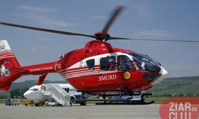 Clujul așteaptă un elicopter SMURD de 10 ani. Poate aștepta în continuare, după ce a fost sărit din schemă azi