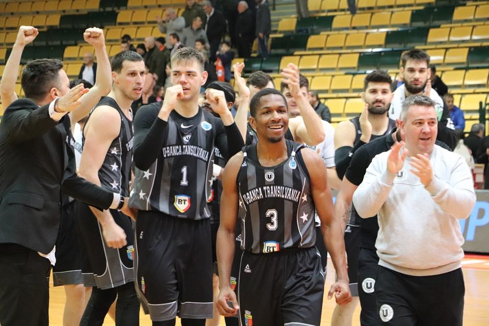U-BT Cluj, victorie mare în Israel! Ardelenii sunt la un pas de sferturile de finală în FIBA Europe Cup