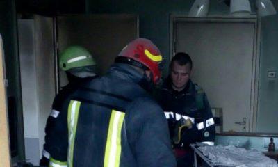 Incendiu în Gheorgheni, la etajul 8! A adormit cu ţigara în mână
