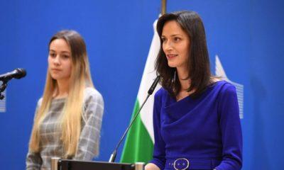 Comisarul european Mariya Gabriel este la Cluj