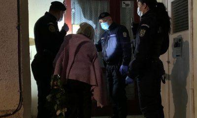 Jandarmii clujeni au ajutat o bătrânică de 83 de ani să ajungă acasă