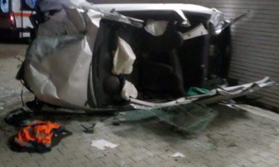 Maşină răsturnată în Icold, şoferul la spital