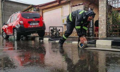20 de judeţe, printre care şi Clujul, au fost afectate de fenomenele hidrometeorologice din ultimele 24 de ore