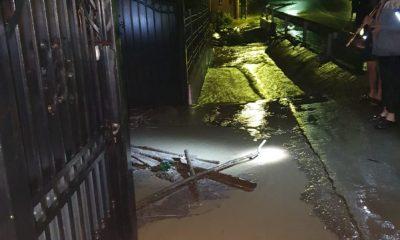 A fost Cod Roşu de fenomene meteorologice periculoase astă noapte. Pompierii au intervenit în mai multe localităţi din judeţul Cluj