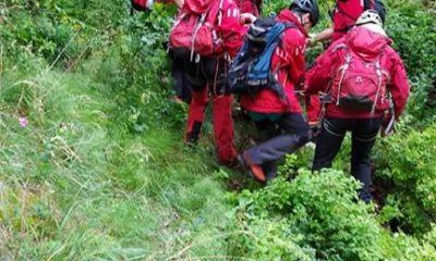 Exercițiu de salvare montană în Cheile Turzii