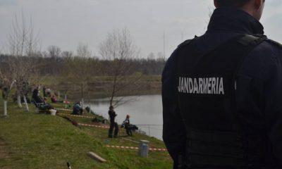 Clujean căutat de poliţie, despistat la pescuit în Gheorgheni