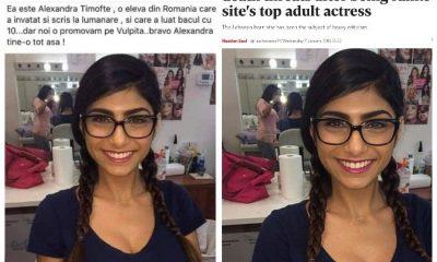 """GAFĂ penibilă la Cluj! Un consilier PSD a distribuit pe Facebook o poză cu o actriţă porno despre care a spus că e """"o elevă de 10 la BAC"""""""