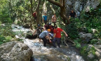 Salvamontiștii clujeni, acțiune de salvare în Cheile Tureni. O persoană a căzut de la înălțime