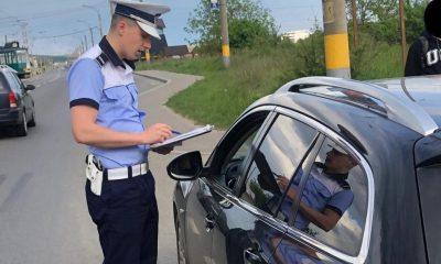 Tupeu maxim! Clujean prins dând ture prin oraș, fără permis și cu o mașină furată