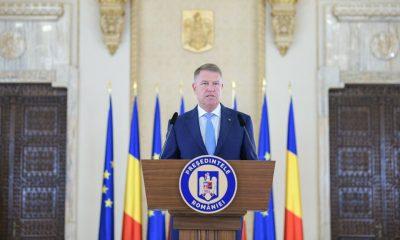 Klaus Iohannis, mesaj de Ziua Marinei: Este esenţial să ne consolidăm capacitatea de anticipare