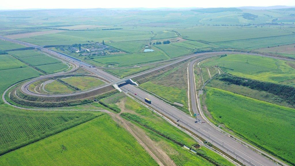 Tronson de  17,9 km al Autostrăzii Transilvania, pe final. Va fi centură pentru Iernut și Luduș