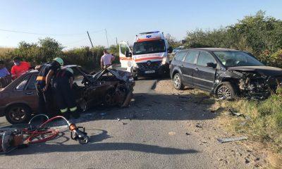 Accident mortal pe un drum din Cluj! Impactul dintre două maşini a curmat o viaţă