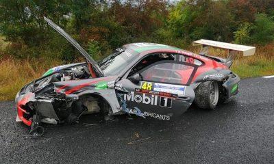 Accident urât la Transivania Rally. Proba specială de la Florești a fost anulată