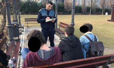 Controale în școlile din Cluj. În vizor, elevii chiulangii