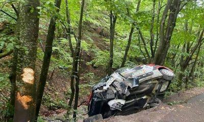 Încă un accident la Transilvania Rally. Un pilot a fost transportat la spital