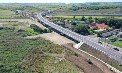 Iohannis, vizită pe Autostrada Transilvania. Se taie panglica pe lotul Iernut-Chețani