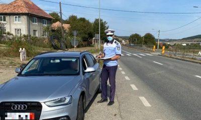 Polițiștii clujeni au scos radarele pe DN1. Câți vitezomani au fost trași pe dreapta în doar câteva ore