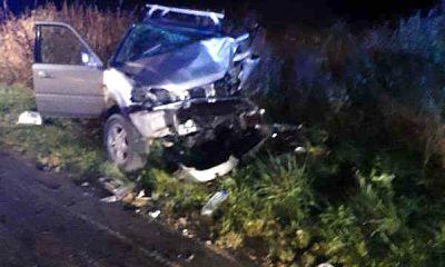 Accident rutier grav. Un bărbat a murit şi altul a ajuns la spital
