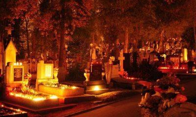 Gest din inimă: voluntarii Scena Urbană curăță și aprind lumânări pentru cei ce nu pot merge la cimitir de Luminație