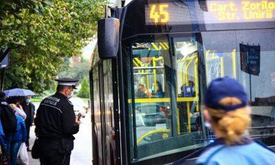 Razie anti-COVID în magazine și autobuze. Câte amenzi s-au dat