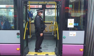 Razie-fulger în stații și autobuze. Câte amenzi s-au dat