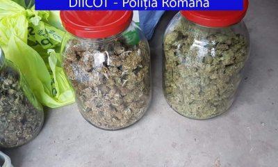 Traficant de droguri din Cluj, prins în timp ce-și ridica banii trimiși prin curier