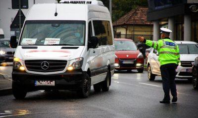 Verificări la transportul de persoane în Cluj-Napoca și zona Jucu. Câte amenzi s-au dat