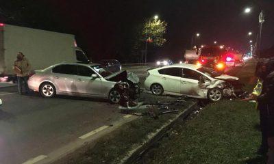 Accident în Floreşti. Un şofer care a intrat pe contrasens a băgat în spital o femeie