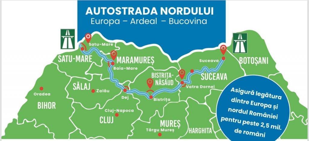 Autostrada Nordului, care trece şi prin Cluj, promulgată de președinte. Cât vor dura lucrările