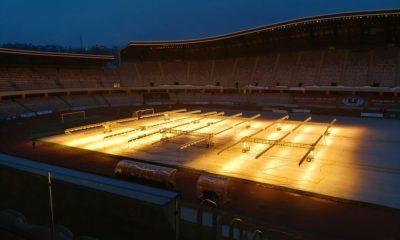 Gazonul de pe Cluj Arena, pregătit pentru finalul de an aglomerat al Universității Cluj