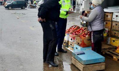 Inspectorii ITM și polițiștii au luat la puricat piața de gros din Dezmir