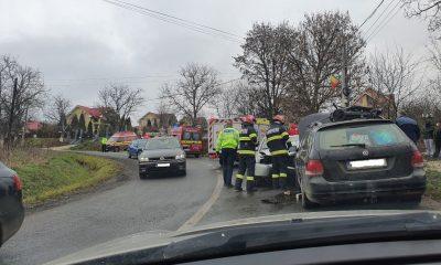 Nebunie pe șoselele Clujului. Patru accidente duminică dimineața