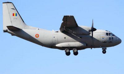 O aeronavă Spartan a plecat spre Bruxelles cu medicul rănit în incendiul de la Neamț