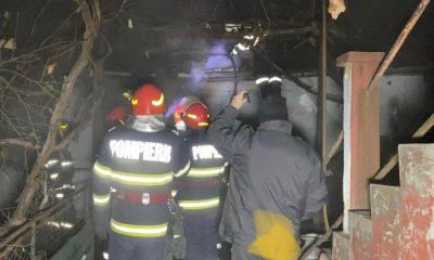 Un bărbat din Buneşti a suferit arsuri pe 15% din suprafaţa corpului după ce i-a luat foc casa. De la ce a pornit incendiul?