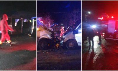 Accident grav cu 10 victime, printre care 3 minori între Baia Mare și Dej