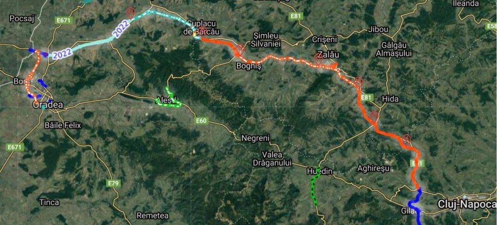 Autostrada Transilvania, între Cluj Napoca și Oradea, bate pasul pe loc. Exproprieri neefectuate, licitaţii anulate