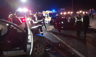 Accident grav la Cluj. O persoană a murit și alte două au rămas încarcerate