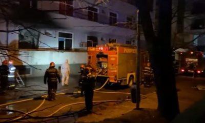 Al cincilea deces în urma incendiului de la Matei Balș. Victima, găsită carbonizată în baie