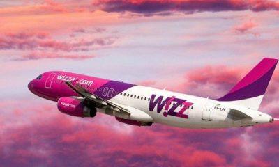 Avion Wizz Air cu zeci de români la bord, lovit de fulger