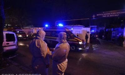 Doi dintre pacienţii transferați de la Matei Balș sunt în stare generală gravă