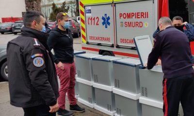 Donaţie pentru ISU Cluj marca Beard Brothers: 10 frigidere mobile pentru transportul vaccinului anti-COVID