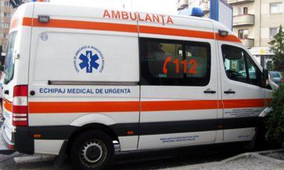 Două persoane rănite în urma unui accident la Turda